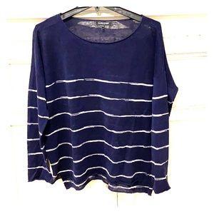 Eileen Fisher Organic Linen Sweater - Sz Petite L
